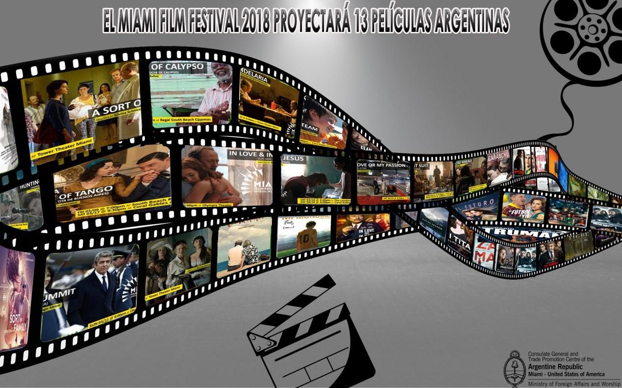 El Festival de Cine de Miami (MDC) proyectará 13 películas argentinas